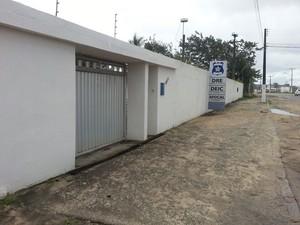 Sede da Deic onde funciona também a Serb (Foto: Arquivo Pessoal/Raíssa Barbosa)