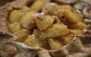 Torta de pera com gengibre