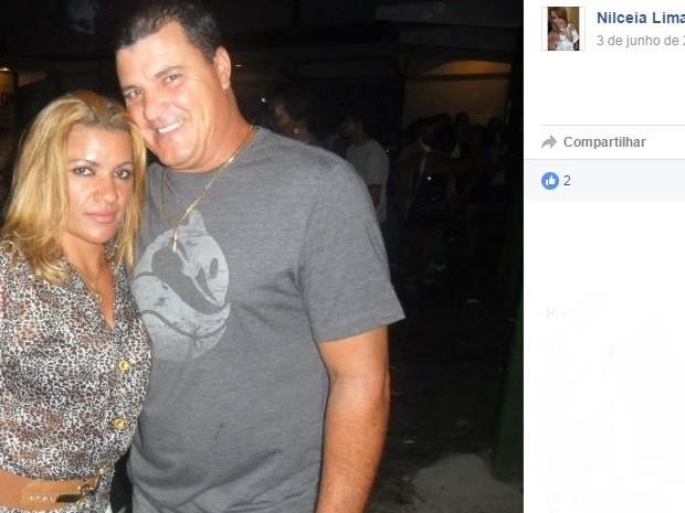 Casal foi achado morto dentro do porta-malas de um carro (Foto: Facebook/Reprodução)