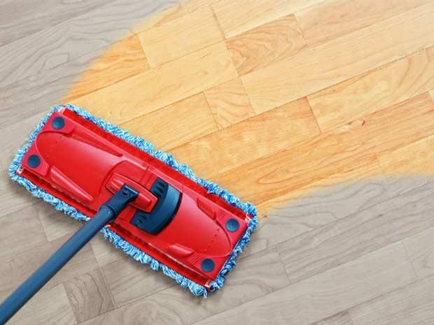 imoveis limpeza piso vinilico (Foto: Shutterstock)