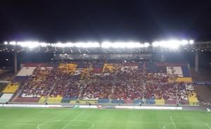 Estádio Kleber Andrade Flamengo x América-MG (Foto: Fred Gomes)