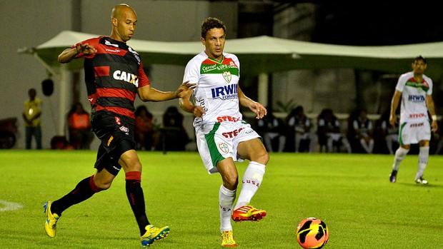 Dinei vitória Portuguesa série A (Foto: Edson Ruiz / Agência Estado)