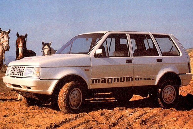 O Rayton Fissore Magnum 4X4 era alternativa ao Range Rover (Foto: Divulgação)