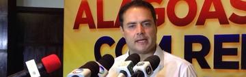 Renan Filho inicia governo com 12 aliados na ALE (Natália Souza/G1)