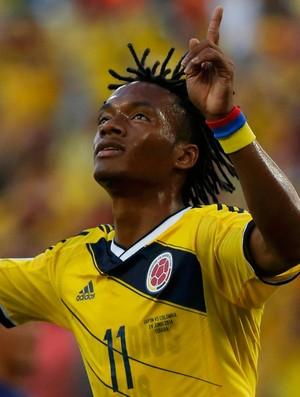 Cuadrado gol Japão x Colômbia (Foto: Reuters)