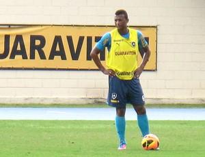 Elias treino Botafogo (Foto: Fred Huber)