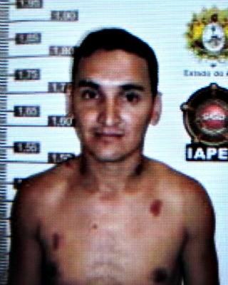 Elivan Verus da Silva é suspeito da matar filha da namorada com três facadas (Foto: Divulgação/Polícia Civil)