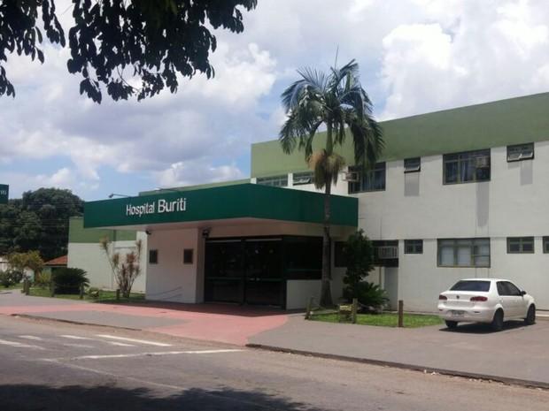 Hospital Buriti, Goiânia, Goiás (Foto: Marianna Pinheiro/ TV Anhanguera)
