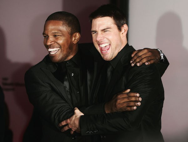 Tom Cruise e Jamie Foxx (Foto: Getty Images)