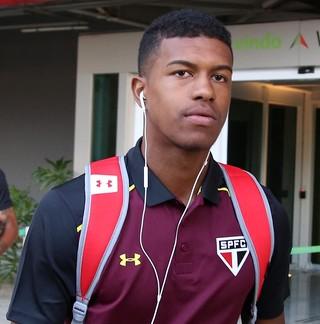 Léo Natel São Paulo (Foto: Rubens Chiri/saopaulofc.net)