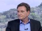 Marcelo Crivella é entrevistado no RJTV