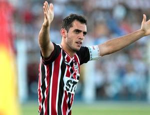 Rhodolfo comemora gol do São Paulo contra o Penapolense (Foto: Célio Messias / Ag. estado)