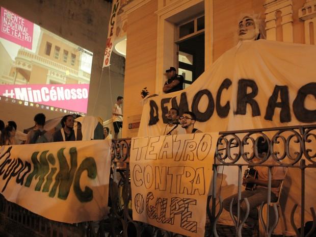 Ocupação começou na última terça (17) (Foto: Paula Vanina)
