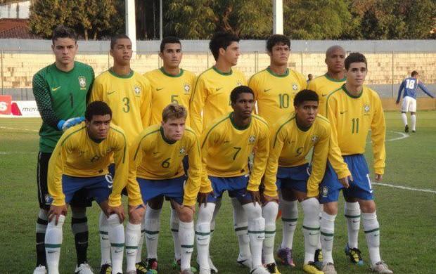 Lateral-direito Ryan na seleção sub-20 (Foto: (Foto: Divulgação/Arquivo pessoal))