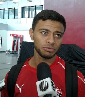 Cleiton Xavier, jogador do Vitória (Foto: GloboEsporte.com)