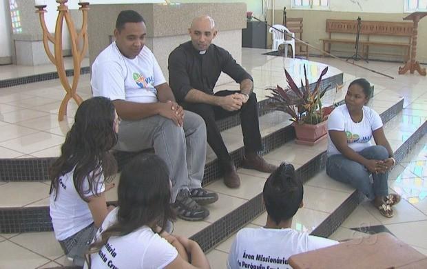 Jovens se preparam para a Jornada da Juventude e encontro com o Papa. (Foto: Bom Dia Amazônia)