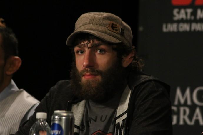 Michael Chiesa UFC MMA (Foto: Evelyn Rodrigues)