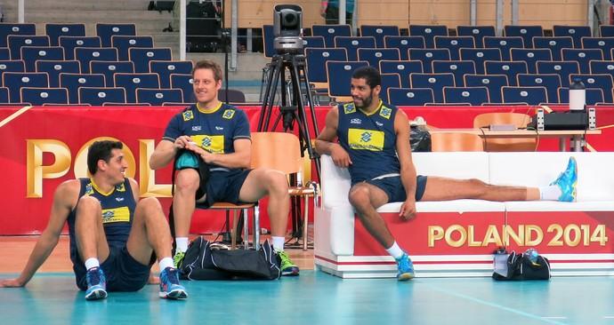 Mundial de vôlei - treino Brasil (Foto: Danielle Rocha)