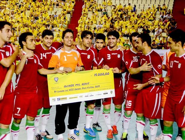 Irã conquista o terceiro lugar do Grand Prix (Foto: Flávio Moraes / Divulgação)