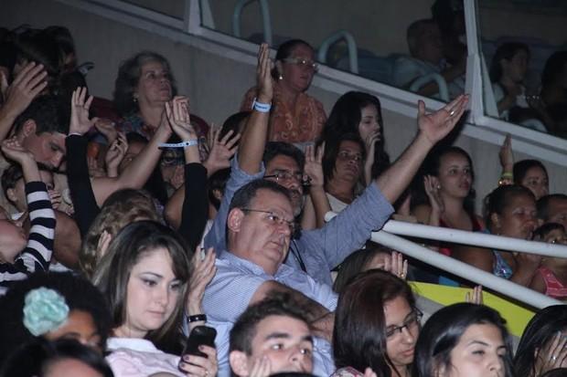 Junno empolgado (Foto: Thyago Andrade/Photorio News)