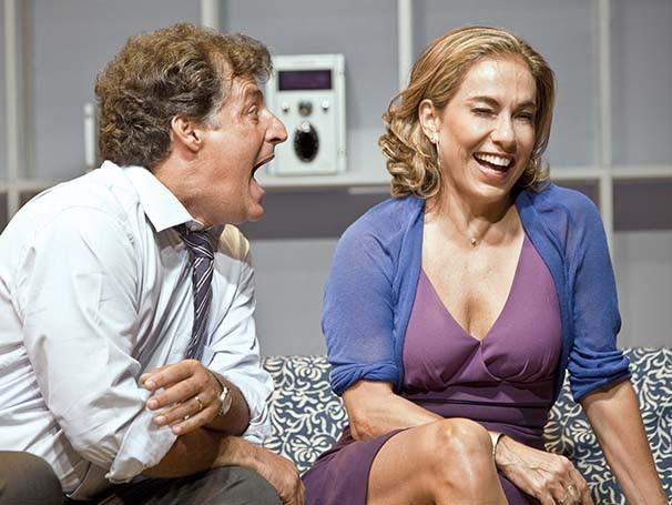 Giusepe Oristânio e Cissa Guimarães retratam o universo feminino no espetáculo (Foto: Divulgação)
