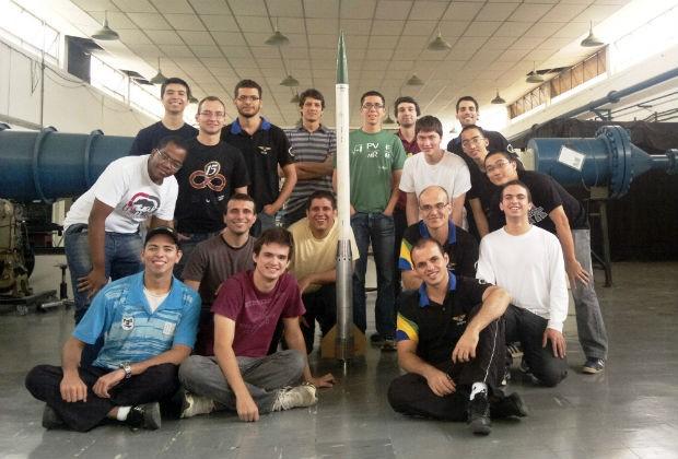 Alunos ITA vão aos Estados Unidos participar de competição de foguete (Foto: Luiz Gustavo Muniz do Nascimento/Arquivo Pessoal)