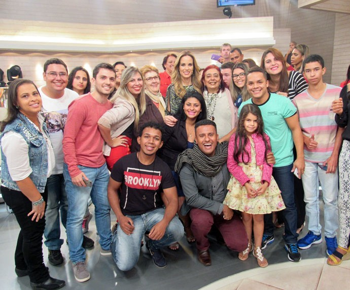 Mais plateia do programa  (Foto: Paula Santos/Gshow)