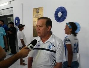 Rafael Tenório, presidente do CSA (Foto: Augusto Oliveira / GloboEsporte.com)