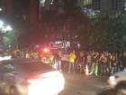 Manifestantes contrários ao governo voltam a protestar em Cuiabá