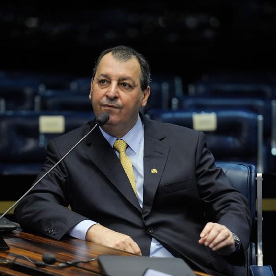 O senador Omar Aziz (PSD-AM) (Foto: Jefferson Rudy/Agência Senado)