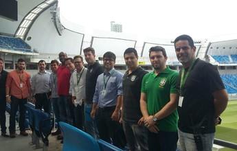 CBF faz reunião operacional na Arena das Dunas antes de jogo da Seleção