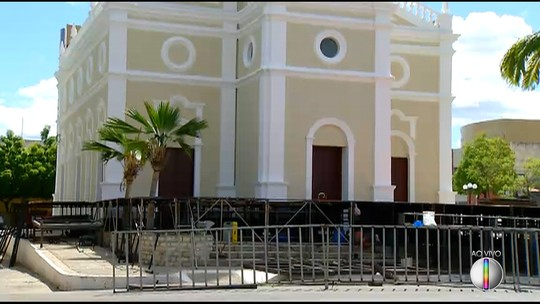 Corpo de Bombeiros interdita palco do espetáculo 'Chuva de Balas no País de Mossoró'