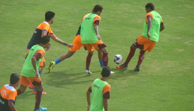 Rodrigo Mucuri marcou o único gol do Boa Esporte contra o Formiga neste domingo em Varginha (Foto: Assessoria de Imprensa Boa Esporte)