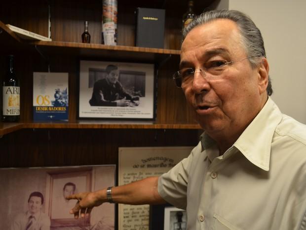 O empresário Maurílio Biagi Filho, de Ribeirão Preto (SP) (Foto: Rodolfo Tiengo/G1)