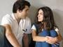 Luciana e Rodrigo discutem por causa de Ciça e Jorge