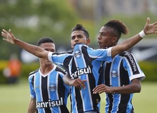 Kaio, atacante do Grêmio sub-17 (Foto: Rodrigo Fatturi/Grêmio/Divulgação)