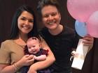 Thais Fersoza e Michel Teló celebram primeiro Dia das Crianças da filha