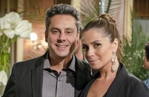 Alexandre Nero e Giovanna Antonelli (Foto: Divulgação / TV Globo)