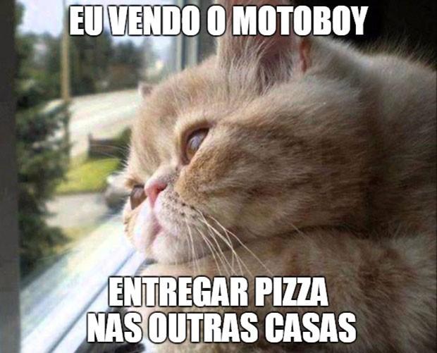 Meme Dia da Pizza (Foto: Reprodução)