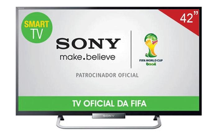 Televisor Sony Full HD tem ótima qualidade de imagem (Foto: Divulgação/Sony)
