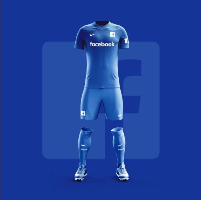 a9e211806ae Site de design cria camisas de futebol para aplicativos populares de ...