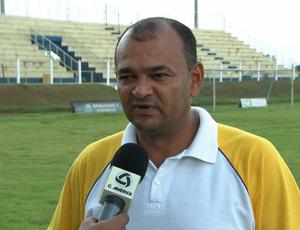 Edson Silva Castro diretor técnico do Atlético Campoverdense (Foto: Reprodução/TVCA)