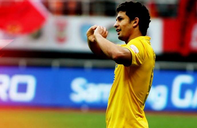 Elkeson guangzhou evergrande gol (Foto: Reprodução / Facebook)
