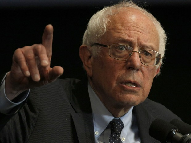 Bernie Sanders quer taxar ricos para financiar seus projetos na presidência (Foto: Hal Yeager/Getty Images/AFP )