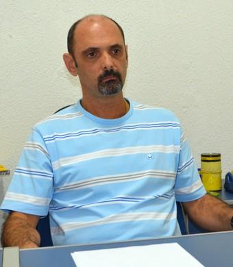 Luis Inácio Messias diretor do São José Basquete (Foto: Danilo Sardinha/Globoesporte.com)