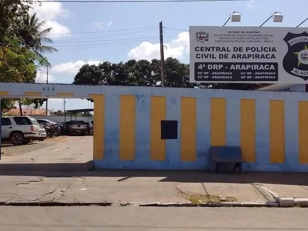 Central de Polícia de Arapiraca (Foto: Ascom/Polícia Civil)