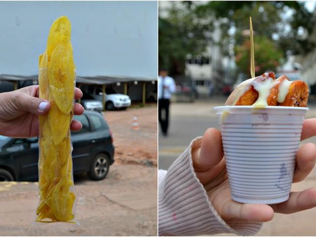 Segundo proprietário, alguns clientes compram banana todos os dias no local (Foto: Quésia Melo/G1)