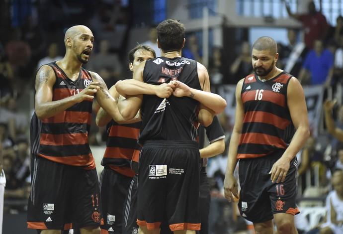 Flamengo Vasco Carioca Basquete (Foto: André Durão)