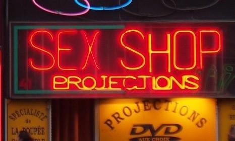 Sex shop na França (imagem meramente ilustrativa)