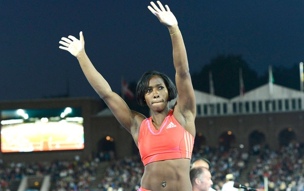 Yarisley Silva, Estocolmo da Diamond League (Foto: Agência Reuters)